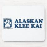 Alaskan Klee Kai Blue Mousemats