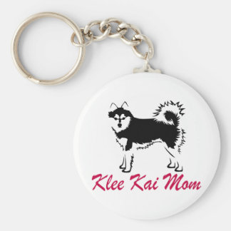 Alaskan Klee Kai Mom Key Ring
