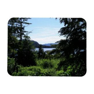Alaskan Landscape Premium Magnet
