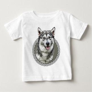 Alaskan Malamute 001 Baby T-Shirt
