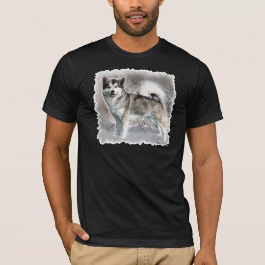 Alaskan Malamute Art Gifts T-Shirt