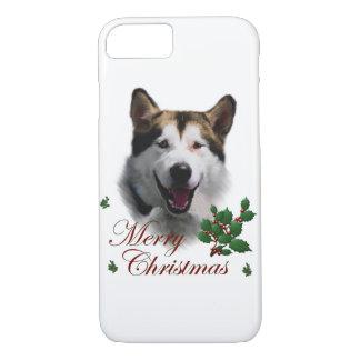 Alaskan Malamute Christmas iPhone 7 Case