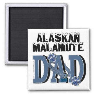 Alaskan Malamute DAD Fridge Magnets