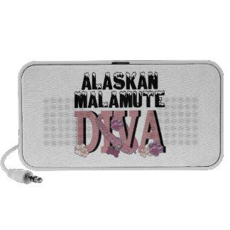 Alaskan Malamute DIVA iPod Speakers