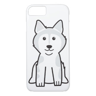Alaskan Malamute Dog Cartoon iPhone 7 Case