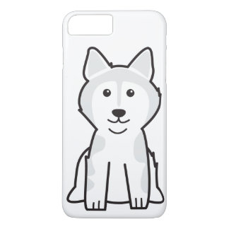 Alaskan Malamute Dog Cartoon iPhone 7 Plus Case