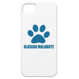 ALASKAN MALAMUTE DOG DESIGNS CASE FOR THE iPhone 5