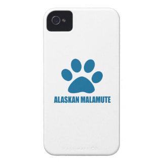 ALASKAN MALAMUTE DOG DESIGNS Case-Mate iPhone 4 CASES