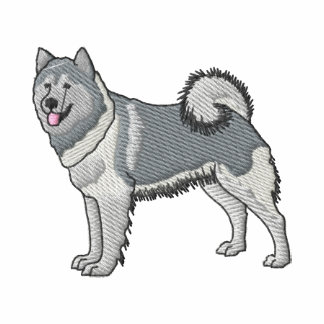 Alaskan Malamute Embroidered Jacket