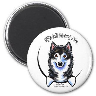 Alaskan Malamute IAAM Fridge Magnet
