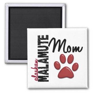 Alaskan Malamute Mom 2 Refrigerator Magnets
