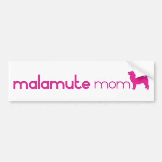 Alaskan Malamute Mum Bumper Sticker