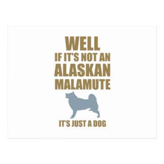 Alaskan Malamute Post Cards