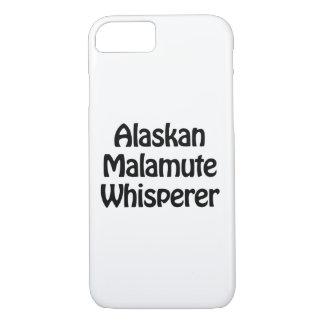 alaskan malamute whisperer iPhone 7 case