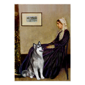 Alaskan Malamute  - Whistlers Mother Poster