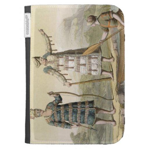 Alaskan man and woman (colour engraving) kindle covers