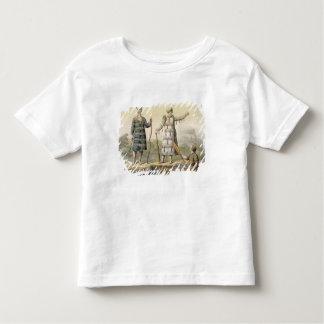 Alaskan man and woman (colour engraving) toddler T-Shirt