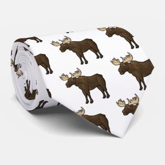 Alaskan Moose Tie