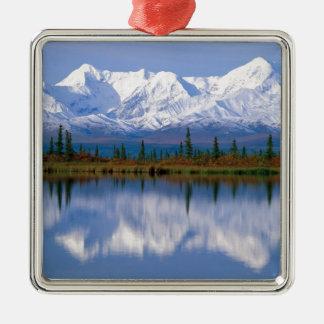 Alaskan Mountians Christmas Ornament
