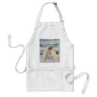 Alaskan Polar Bears Standard Apron