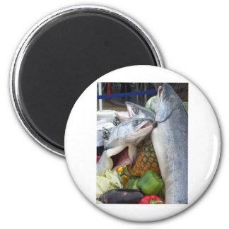 Alaskan Salmon Buffet Magnets