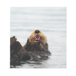 Alaskan Sea Otter Notepad