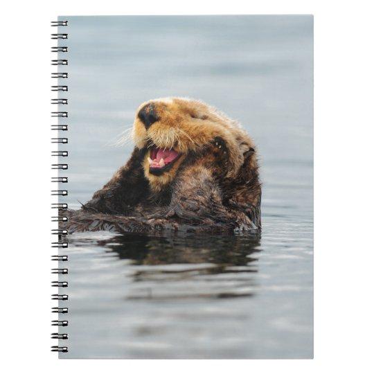 Alaskan Sea Otter Spiral Notebook