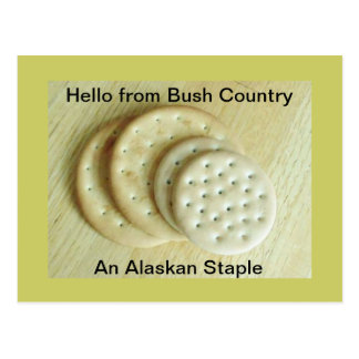 alaskan staple postcard