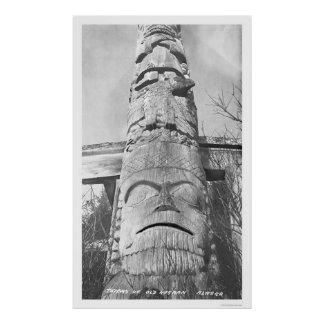 Alaskan Totem Pole 1912 Posters
