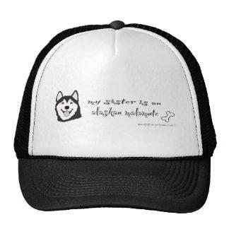 AlaskanMalamuteSisterBlk Hat