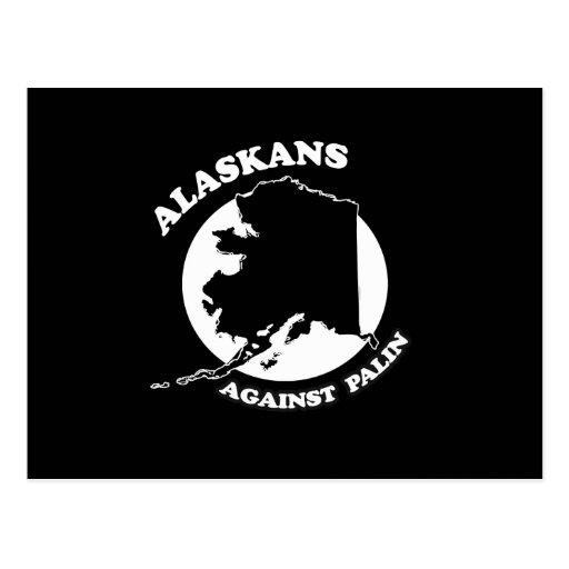 Alaskans against Palin Post Cards