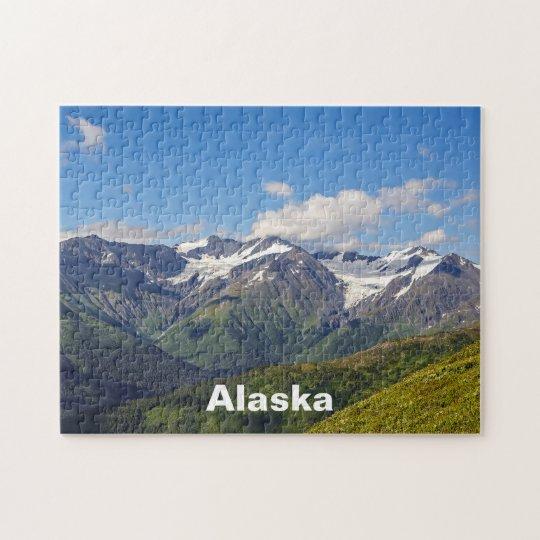 Alaska's Chugach Mountain Range Jigsaw Puzzle