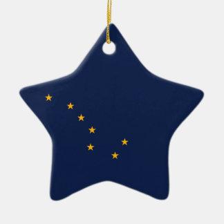 Alaska's Flag Christmas Ornament
