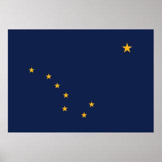 Alaska's Flag Poster