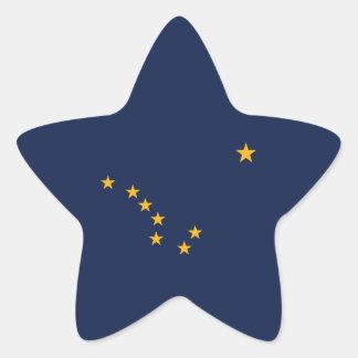 Alaska's Flag Star Sticker