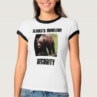 Alaska's Homeland Security 3-D Womans Shirt