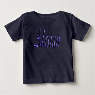 Alastair, Name, Logo, Baby's Lap T-shirt
