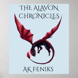 Alavon Dragon Ouroboros Poster