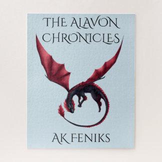 Alavon Dragon Ouroboros Puzzle