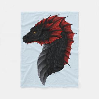 Alavon Dragon Profile Small Blanket