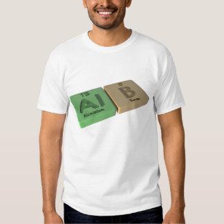 Alb as Al Aluminium and B Boron T Shirts