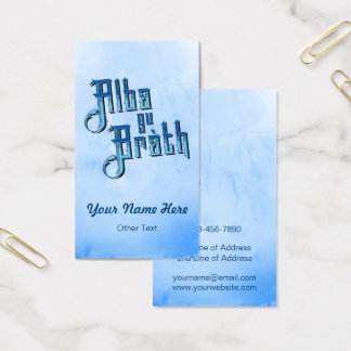 Alba gu bràth Scotland Forever Business Card Temp
