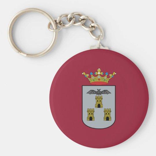 Albacete, Spain flag Key Ring