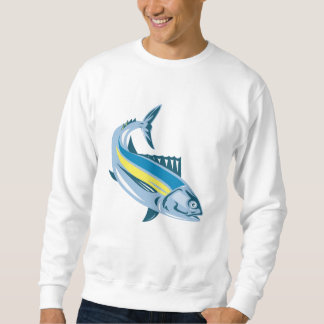 Albacore Tuna Fish Retro Sweatshirt