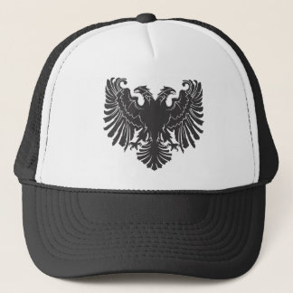 Albaian old eagle trucker hat