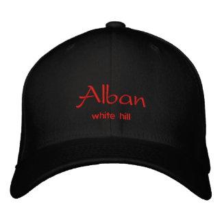 Alban Name Cap / Hat Embroidered Baseball Cap