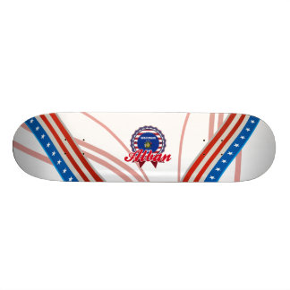 Alban WI Skate Deck