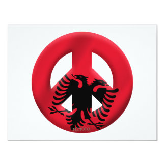 Albania 11 Cm X 14 Cm Invitation Card