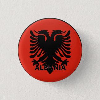 Albania 3 Cm Round Badge