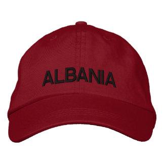 Albania Adjustable Hat  Shqipëri Kapak Me Porosi Embroidered Hat